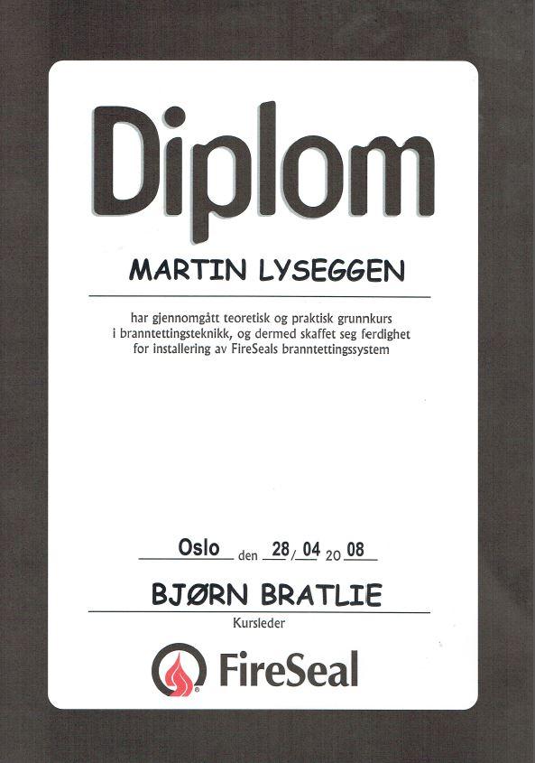 Diplom FireSeal